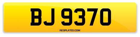 Registration BJ 9370