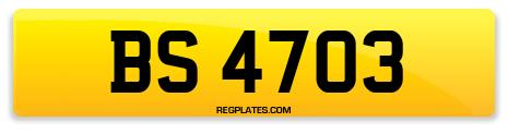 Registration BS 4703