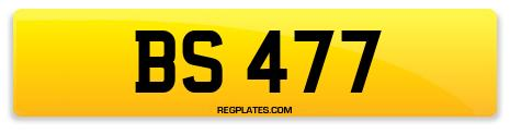 Registration BS 477
