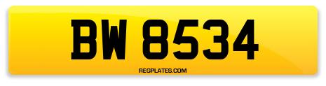 Registration BW 8534