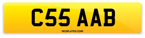 Registration C55 AAB