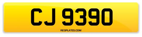 Registration CJ 9390