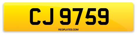 Registration CJ 9759