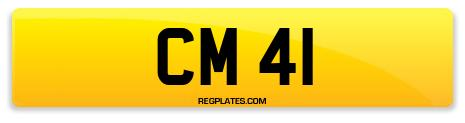 Registration CM 41