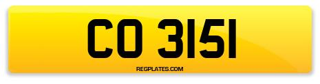 Registration CO 3151