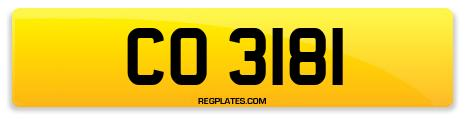 Registration CO 3181