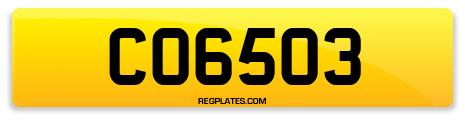 Registration CO6503