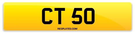 Registration CT 50
