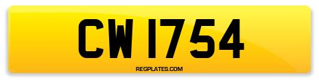 Registration CW 1754