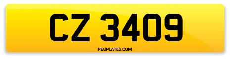 Registration CZ 3409