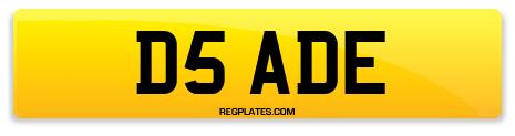 Registration D5 ADE
