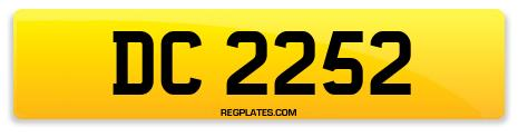 Registration DC 2252