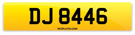 Registration DJ 8446