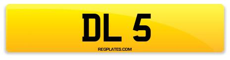 Registration DL 5