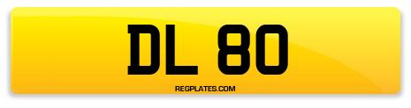 Registration DL 80