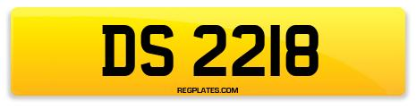 Registration DS 2218