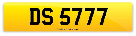 Registration DS 5777