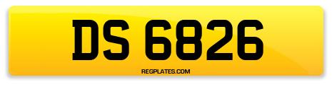 Registration DS 6826