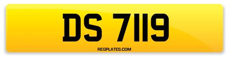 Registration DS 7119