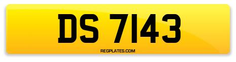 Registration DS 7143
