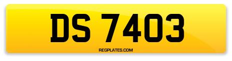 Registration DS 7403