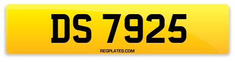 Registration DS 7925
