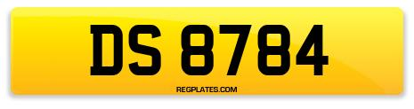 Registration DS 8784