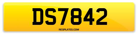 Registration DS7842