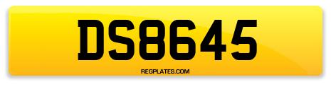 Registration DS8645