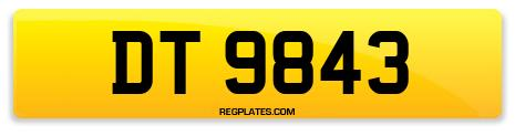 Registration DT 9843