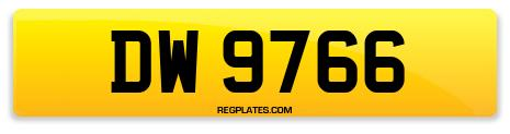 Registration DW 9766