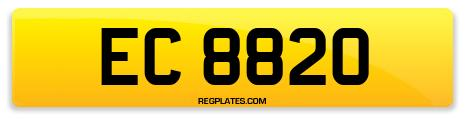 Registration EC 8820