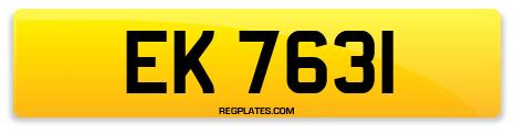 Registration EK 7631