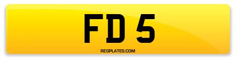 Registration FD 5