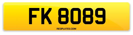 Registration FK 8089