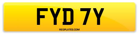 Registration FYD 7Y