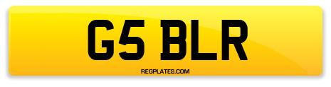 Registration G5 BLR