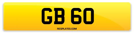 Registration GB 60