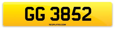 Registration GG 3852