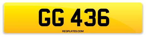 Registration GG 436