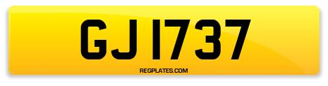 Registration GJ 1737