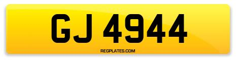 Registration GJ 4944