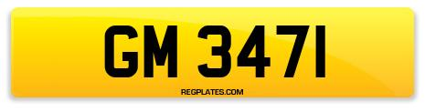 Registration GM 3471