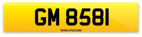 Registration GM 8581