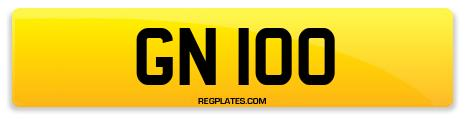 Registration GN 100