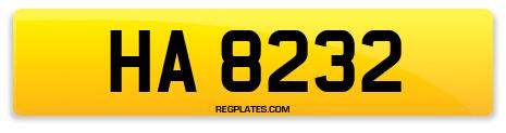 Registration HA 8232