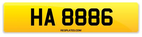 Registration HA 8886