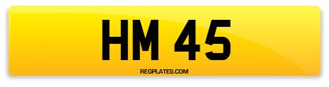 Registration HM 45