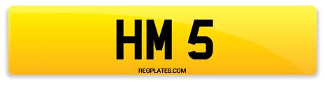 Registration HM 5