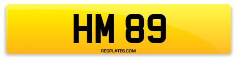 Registration HM 89